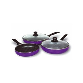 Lot de 3 poeles Spider Pan